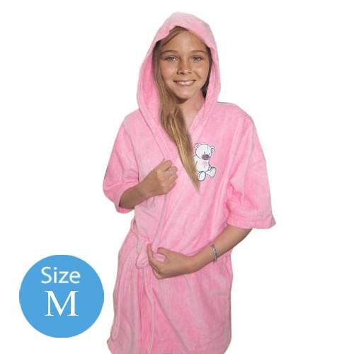 Handuk Baju Anak Pink M