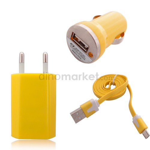 Wall & Charger Candy Unique - Yellow