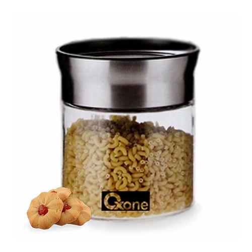 Oxone Toples Kaca Round Storage Jar OX-309S