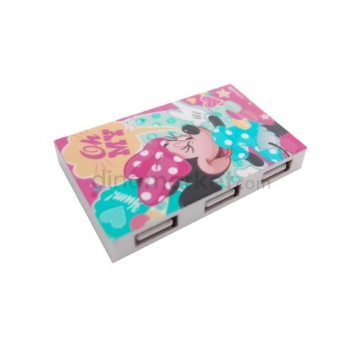 Disney USB Hub 3 Port - Minnie Oh My