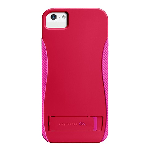 Case-Mate Case Pop With Stand for iPhone 5/5S - Ruby Red/Shocking Pink