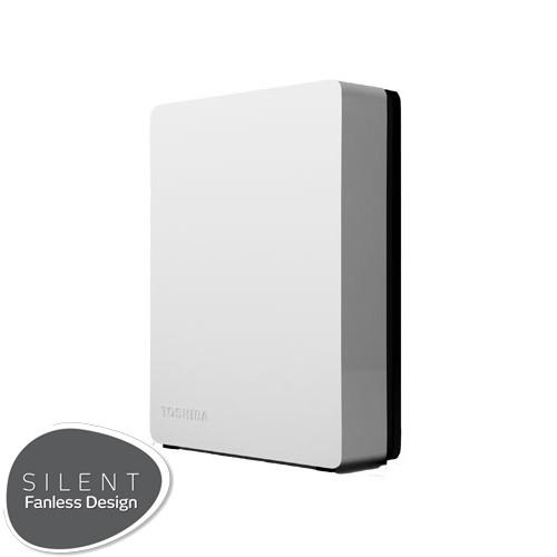 Toshiba Hard Disk Canvio Desktop 2TB - White