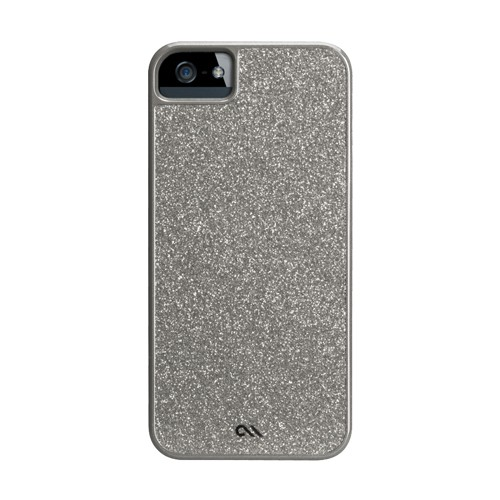 Case-Mate Case Glam for iPhone 5/5S- Silver