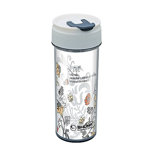 Shuma Botol Tumbler DW Personalized 400ML (Love) - White