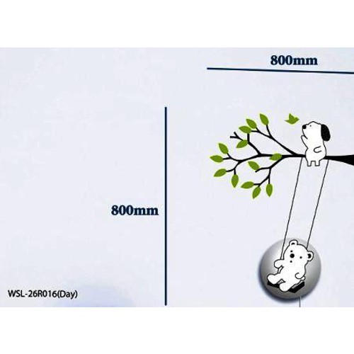 Lampu Dinding Sticker Dekorasi - WSL26R016