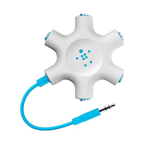 Belkin Multi Headphone Splitter - Blue