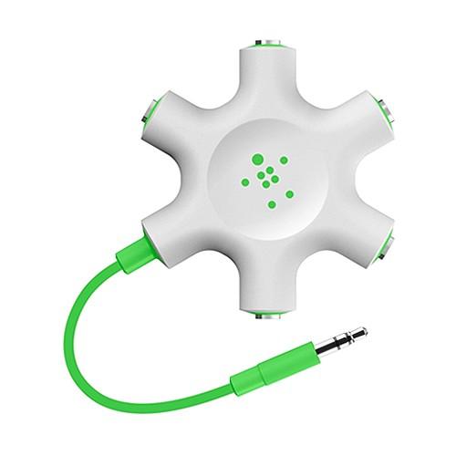 Belkin Multi Headphone Splitter - Green