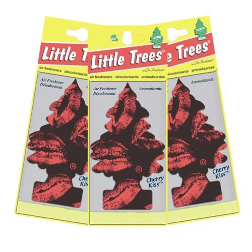 Little Trees Pengharum Ruangan (3 packs) - Cherry Kiss