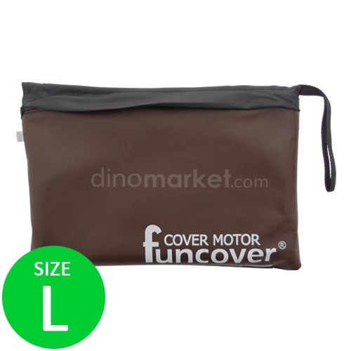 Cover Motor FunCover Black L