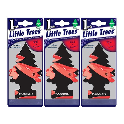 Little Trees Pengharum Ruangan (3 pack) - Passion