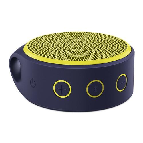 Logitech Speaker Mobile Wireless X100 - Purple /Yellow Grill