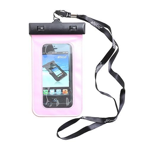 Bingo Sarung HP Anti Air Clipper 5 inch WP06-134 - Pink