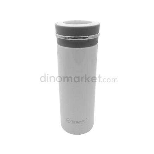 Shuma Botol Tumbler S/S Vacuum 400ML - White