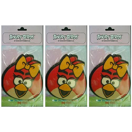Smell Good Pengharum Ruangan Angry Birds - Red Rose (3 pack)