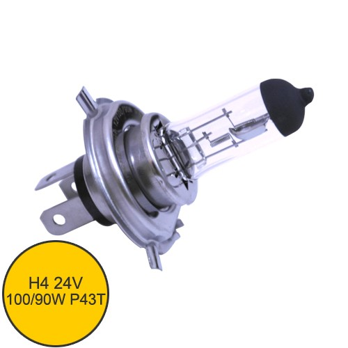 Lampu Mobil Dr.D. Fischer H4 24V 100/90W - P43T(Rally)