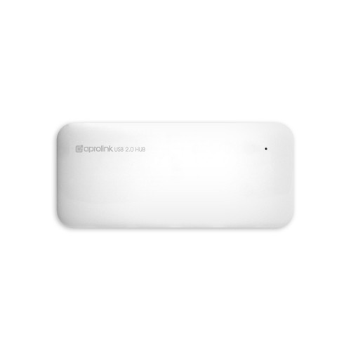 Aprolink 7 Ports USB 2.0 High Speed Hub- White