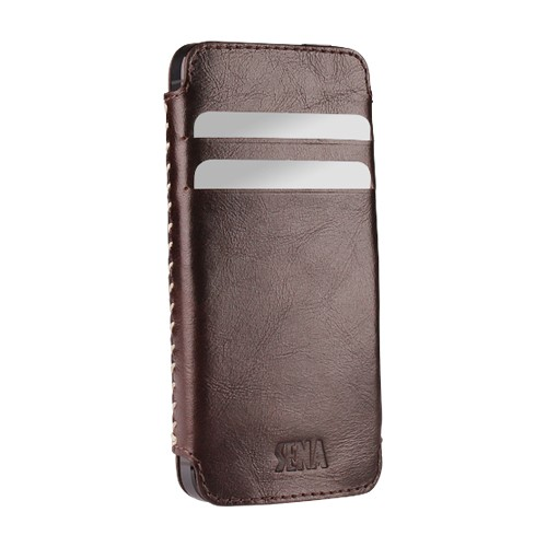 Sena Pouch Lusio for iPhone 5 - Brown