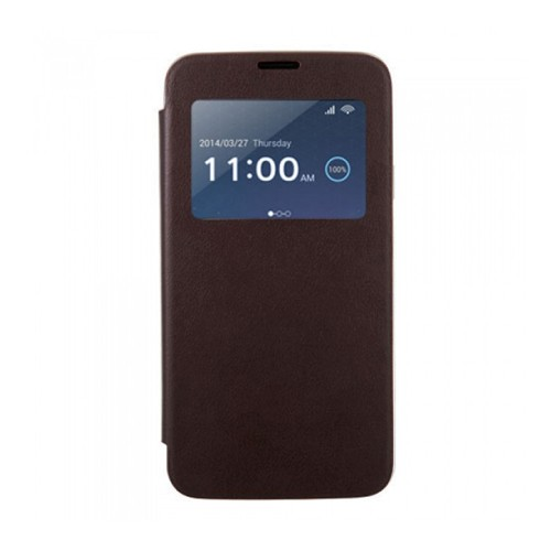 S-View Cover Anymode for Samsung Galaxy S5 - Brown