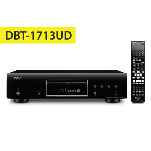 Denon Blu-ray / Universal Players DBT-1713UDBKE1 - Black