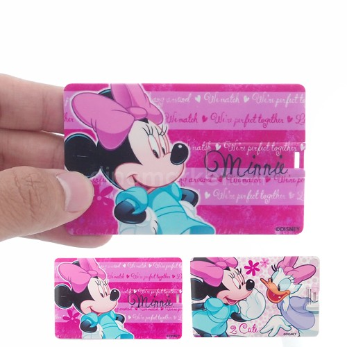 Flash Drive Card Series Disney (8 GB) - Minnie