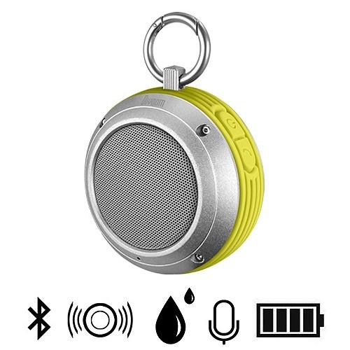Divoom Bluetooth Speaker Voombox Travel - Silver /Green