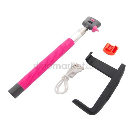 Tongkat Narsis Bluetooth Universal - Pink