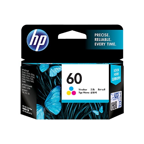 HP Tinta Printer 60 Standard CC643WA - Tri Color