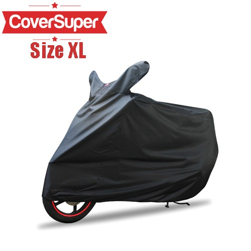 Cover Motor Cover Super XL Black