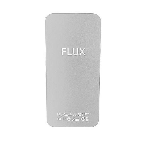Flux Power Bank 5.600 mAh - Silver
