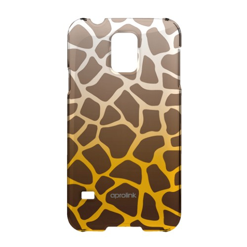 Aprolink Case Wild Animal Printed for Samsung Galaxy S5 - Giraffe