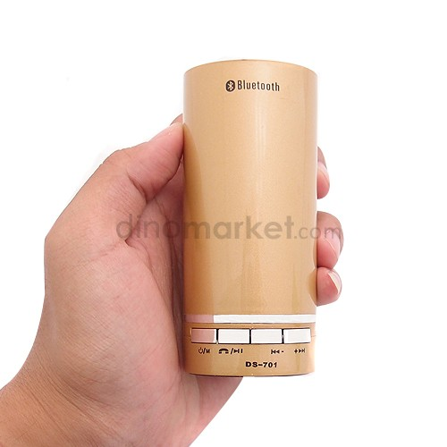 Speaker Bluetooth MP3 Player DS701 Gold