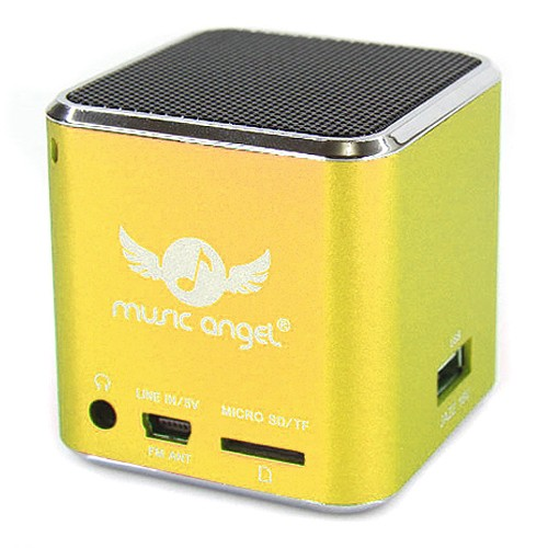 Speaker MP3 Player Music Angel Jazz 16U Green