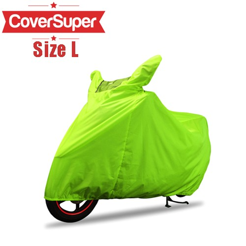 Cover Motor Cover Super L - Lime Green