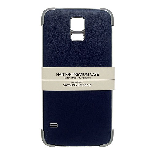 Hanton Edge Cover for Samsung Galaxy S5 - Blue