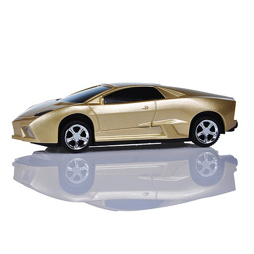 Power Bank 5.600 mAh Model Mobil Sport  - Gold