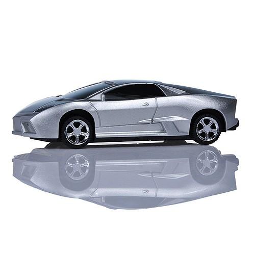 Power Bank 5.600 mAh Model Mobil Sport  - Silver
