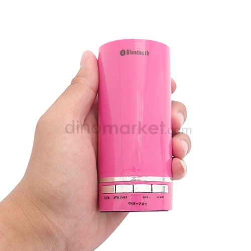 Speaker Bluetooth MP3 Player DS701 Pink