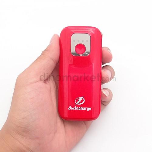 harga Power Bank InstaCharge Unique 5800mAh - Red Dinomarket.com