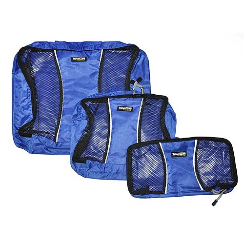 Travel Zee Packing Cubes - Blue
