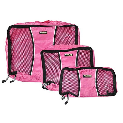Travel Zee Packing Cubes - Pink
