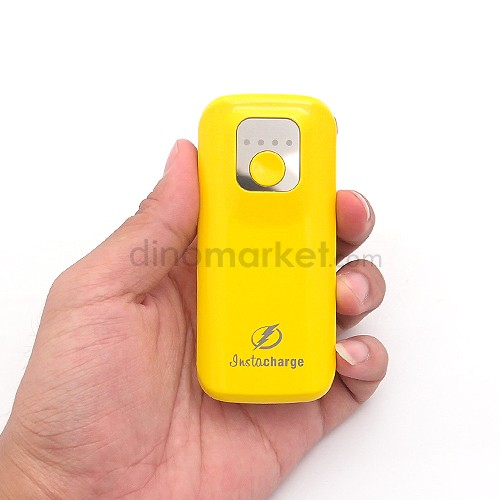 harga Power Bank InstaCharge Unique 5800mAh - Yellow Dinomarket.com