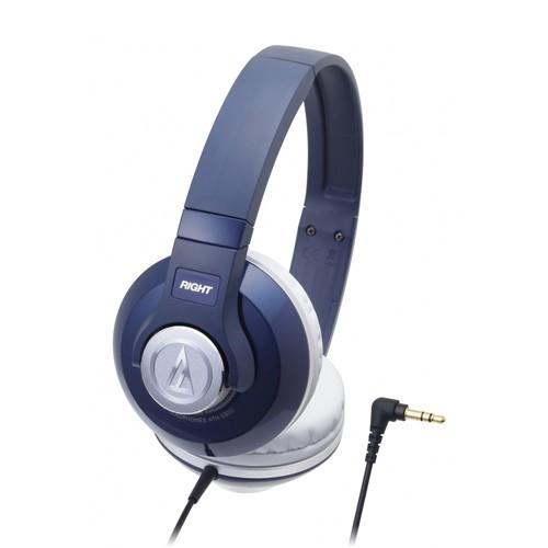 Headphone Audio Technica Portable ATH S500 - Navy