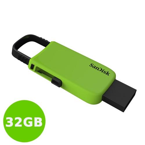 Sandisk Flash Drive Cruzer U CZ59 32GB - Green