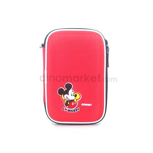 Disney Hard Disk Pocket Disney I Love Mickey - Red