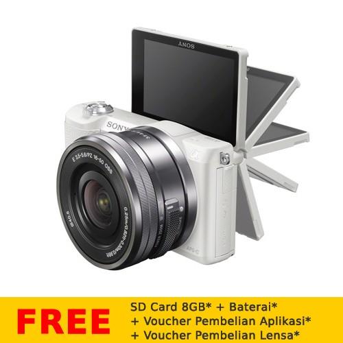 Kamera Digital Sony ILCE Alpha 5100 - White