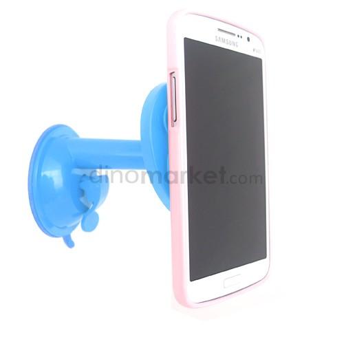 Penyangga Gadget Tentakel bentuk Apel - Blue