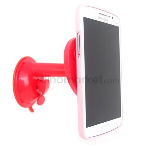 Penyangga Gadget Tentakel bentuk Apel - Red