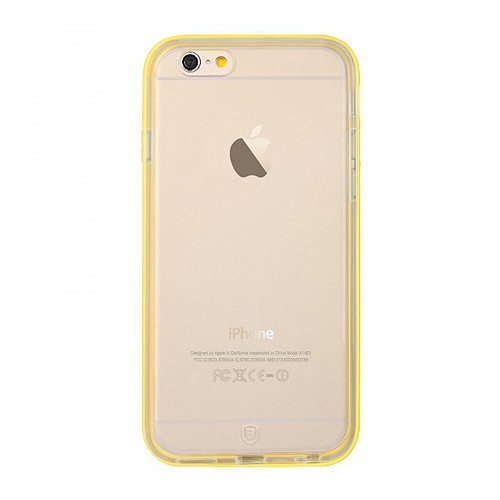 Baseus Case Fresh Series PC Bumper + TPU Back Case for iPhone 6 4.7 inch - Yellow