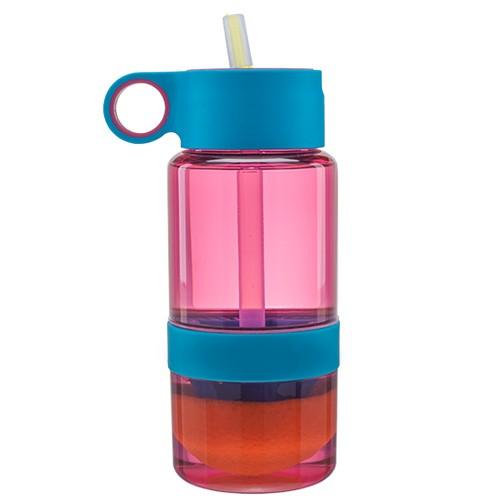 Botol Pemeras Jeruk Portabel Zinger Kid - Pink