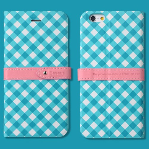 Baseus Case Colour Match Leather for iPhone 6 - Blue